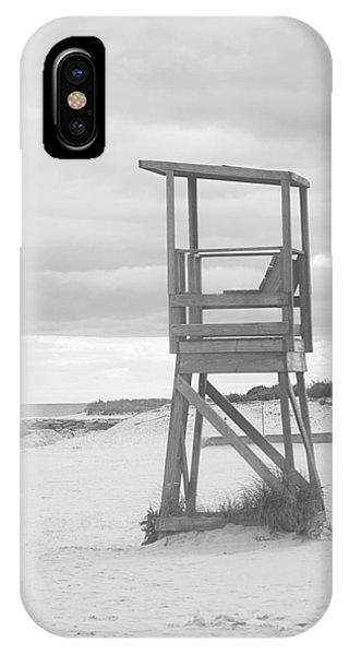 Beach Throne Harwich Ma Bw I IPhone Case