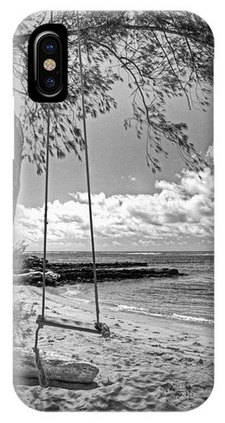 Beach Tree Swing IPhone Case