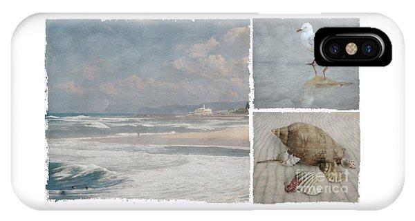 Beach Triptych 1 IPhone Case