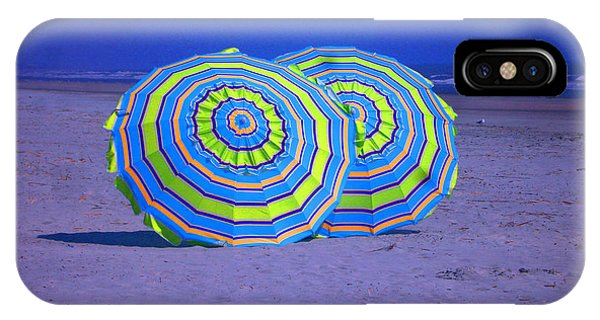 Beach Umbrellas By Jan Marvin Studios IPhone Case