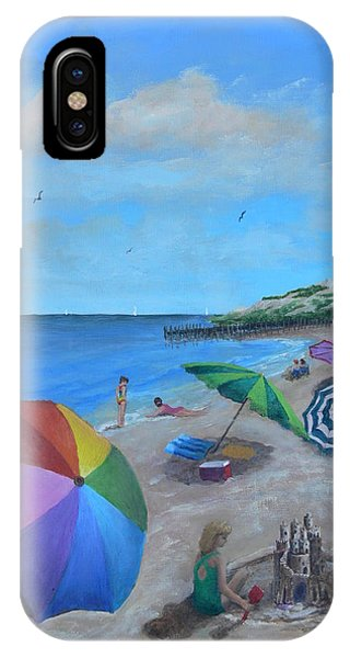 Beach Umbrellas IPhone Case