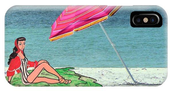 Beach Vacation Phone Case by Rosalie Scanlon