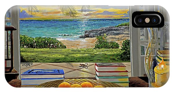 Bahamas iPhone Case - Beach View by Carey Chen