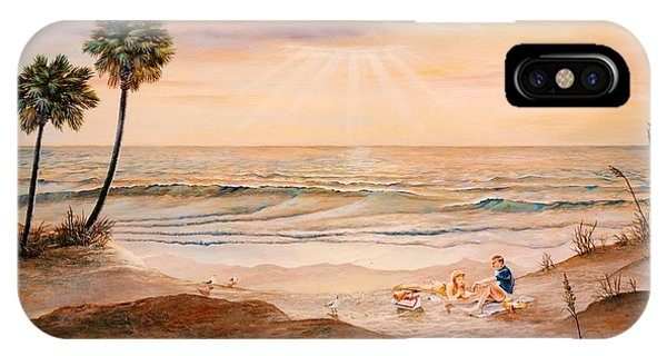 Beachcombers IPhone Case