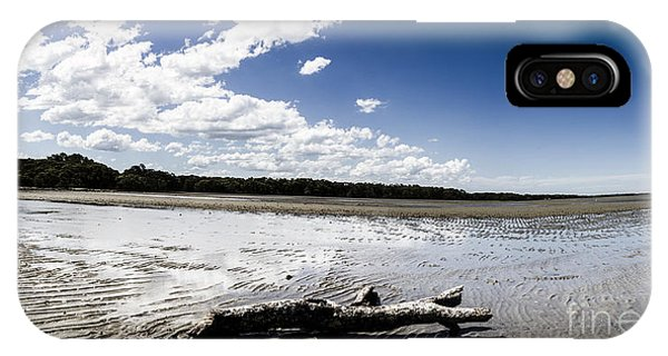 Qld iPhone Case - Beached Driftwood by Jorgo Photography - Wall Art Gallery