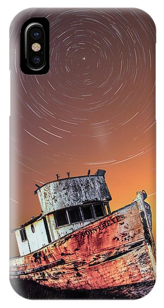 Beached Star Trails IPhone Case