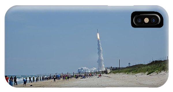 Beachside Launch IPhone Case