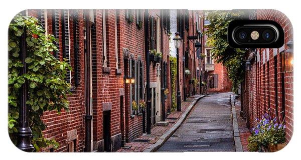 Beacon Hill Boston IPhone Case