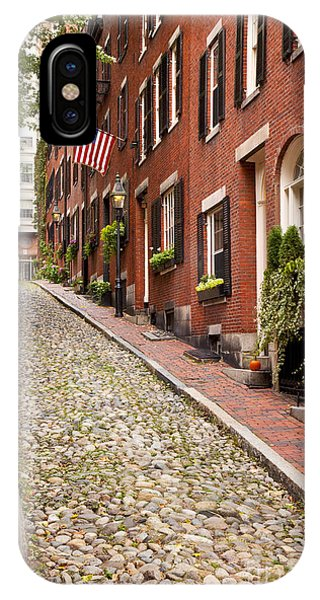 Brownstone iPhone Case - Beacon Hill by Brian Jannsen