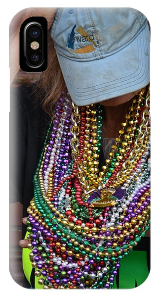 Bead Lady Of The Quarter IPhone Case