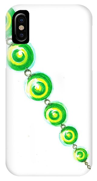 Beaded Chain IPhone Case