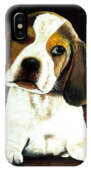 Beagle Puppy Phone Case by Zelma Hensel