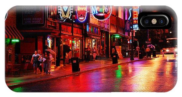 Beale Street Memphis IPhone Case