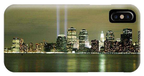 Beams Of Light, New York, New York IPhone Case