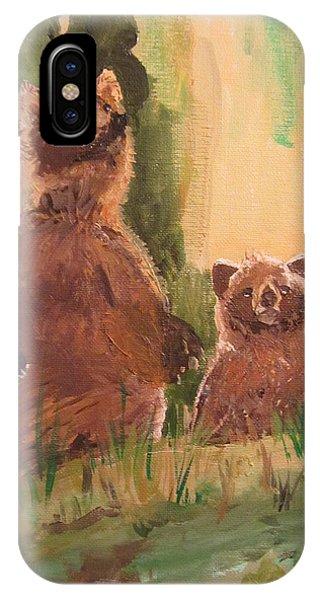 Bear Encounter IPhone Case