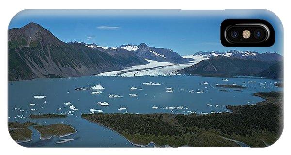Bear Glacier Seward Alaska IPhone Case