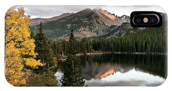 Bear Lake Sunset Phone Case by Robert Yone