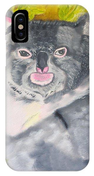 Koala Hug IPhone Case