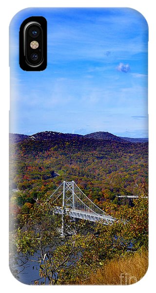Bear Mountain Bridge From Camp Smith Trail IPhone Case