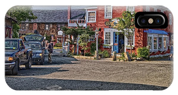 IPhone Case featuring the photograph Bearskin Neck by Mark Myhaver