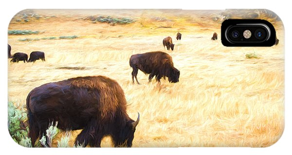 Beasts Of Yellowstone IPhone Case