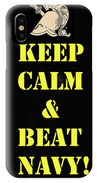 Beat Navy IPhone Case