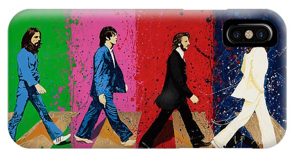 Beatles Crossing IPhone Case