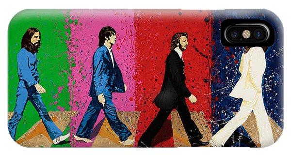 Beatles Crossing IPhone Case