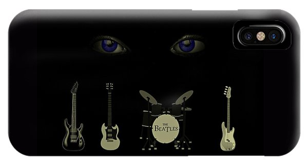 Beatles Something IPhone Case