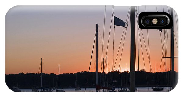 Beaufort Sc Sunset IPhone Case