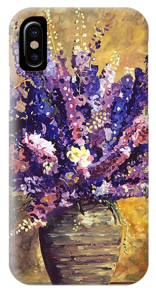 Beaujolais Bouquet IPhone Case