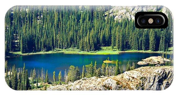 Beautiful Alpine Lake IPhone Case