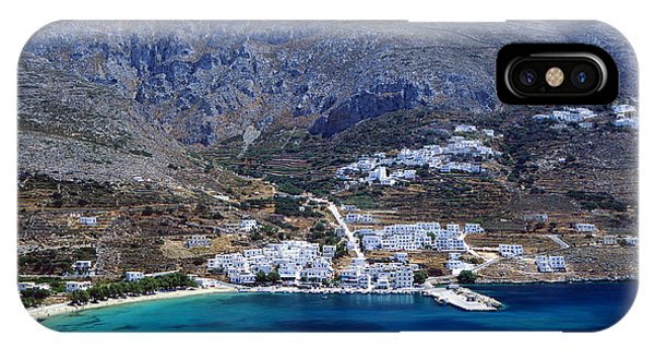 Beautiful Amorgos IPhone Case