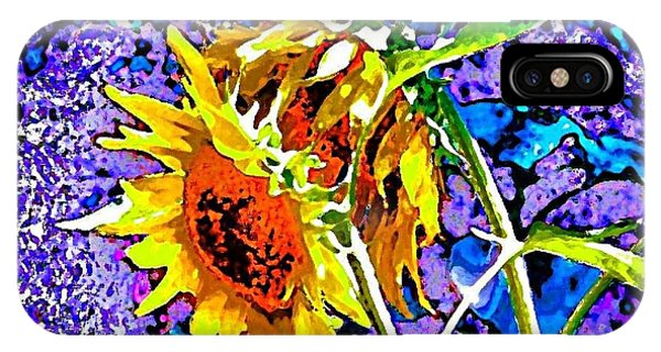 Beautiful And Bright Sunflowers IPhone Case