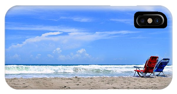 Beautiful Beach Day IPhone Case