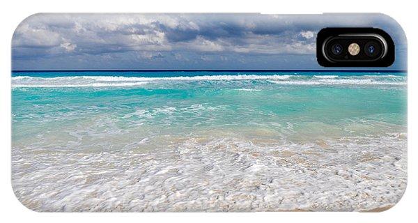 Beautiful Beach Ocean In Cancun Mexico IPhone Case
