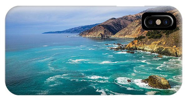 IPhone Case featuring the photograph Beautiful Big Sur With Bixby Bridge by Priya Ghose