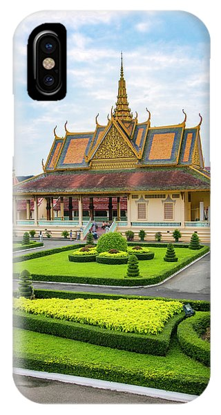 Cambodia iPhone Case - Beautiful Cambodian Architecture by Douglas Peebles