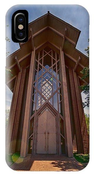 Chapel iPhone Case - Beautiful Chapel by Joan Carroll