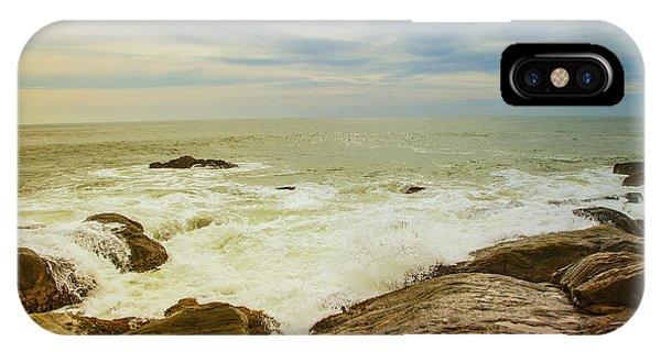 Tropes iPhone Case - Beautiful Coastal Landscape by Gina Koch