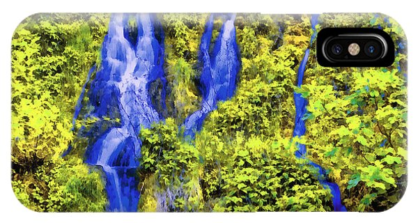 Beautiful Colorful Waterfall IPhone Case