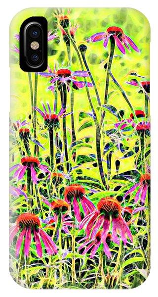 Beautiful Coneflowers IPhone Case