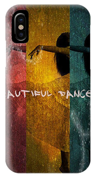 Having Fun iPhone Case - Beautiful Dancer by Absinthe Art By Michelle LeAnn Scott
