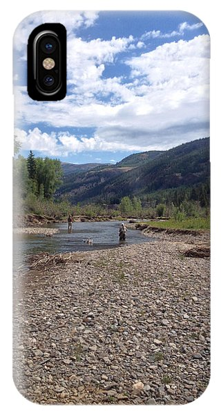 Beautiful Day On The River IPhone Case