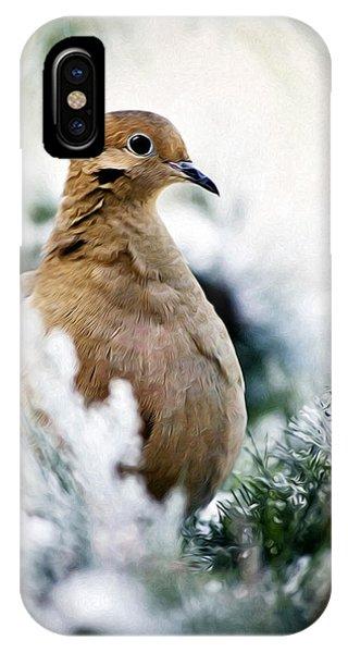 Beautiful Dove IPhone Case