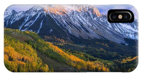 Beautiful Fall Evening IPhone Case