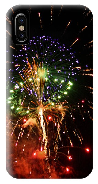 Beautiful Fireworks Works IPhone Case