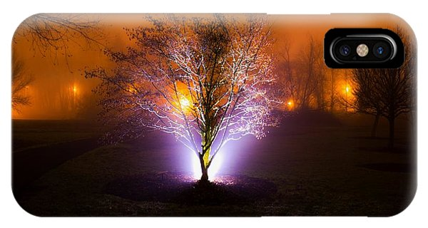 Beautiful Foggy Night 2 IPhone Case