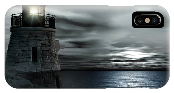 Beautiful Light In The Night IPhone Case