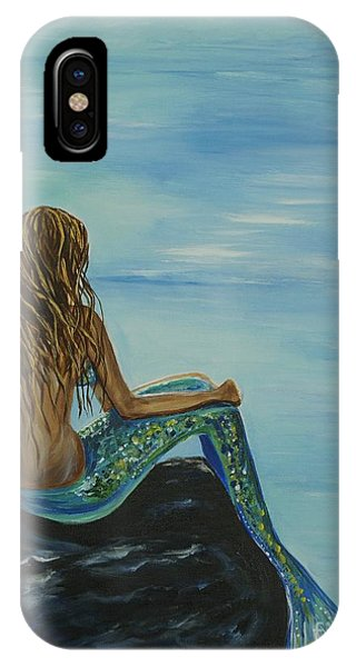 Beautiful Magic Mermaid IPhone Case